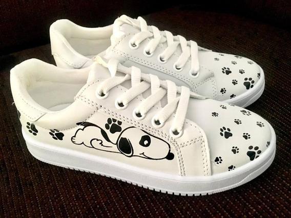 Tenis Unisex De Snoopy