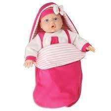 Boneca Bebê Jensen - Dorme Bebê - Roma Brinquedos