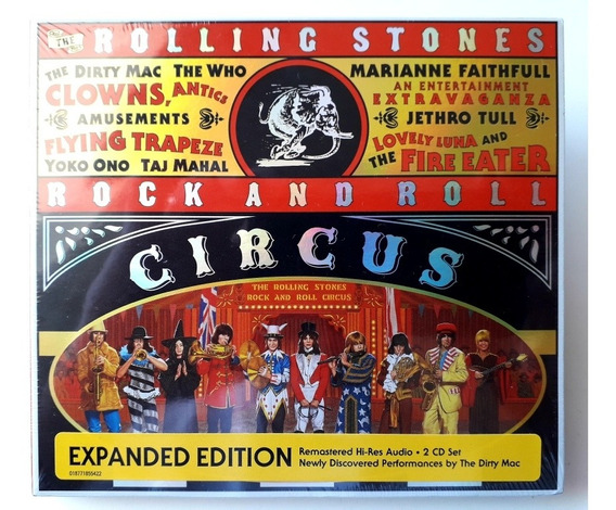 Cd Rolling Stones Rock And Roll Circus Remaster Psicobr Novo