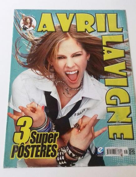 Revista 3 Super Pôsteres Avril Lavigne Super Hits N 56