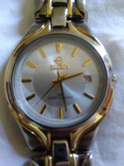 Relógio De Pulso Elgin Japan Movt Resistente Agua Comprado Nos Estados Unidos Excelente Estado Todo Original