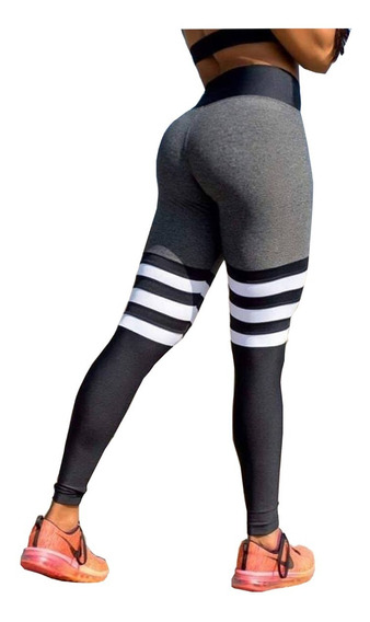 Paquete Leggins Lycra Colombiana Gym Mujer 10 Piezas