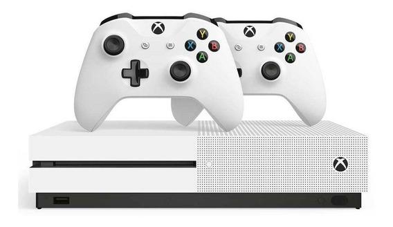 Console Microsoft Xbox One S 1tb 2 Controles 234-00603