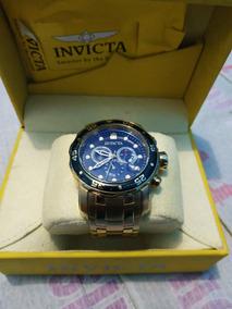 Relógio Invicta Pro Diver 0072 Original Banhado Ouro