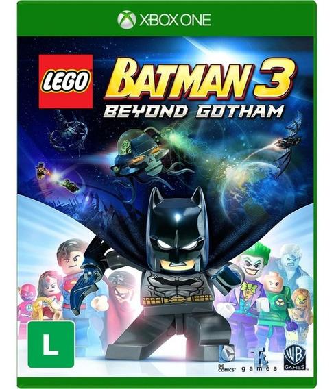 Jogo Lego Batman 3 Beyond Gotham Xbox One Novo