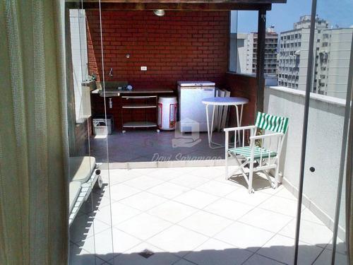Cobertura Com 4 Dormitórios À Venda, 163 M² Por R$ 1.190.000 - Icaraí - Niterói/rj - Co0008
