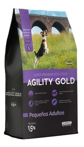 Imagen 1 de 1 de Agility Gold Pequeñosadultos1.5 - kg a $25500