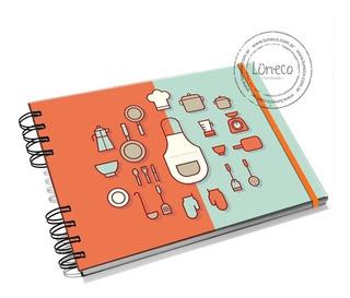 Recetario De Cocina.Cuaderno Recetario Cocina En Mercado Libre Argentina