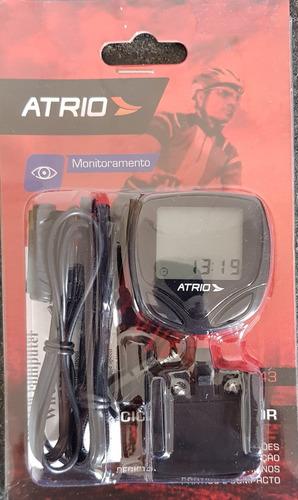 Ciclocomputador Atrio, Display Automático 15 Modos Operacion