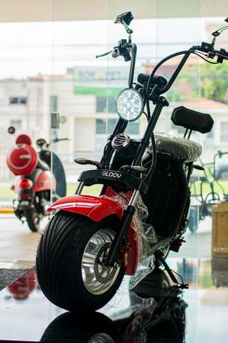 Imagem 1 de 8 de Scooter Elétrica 2000w