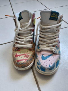 Nike Dunk High What The Dunk