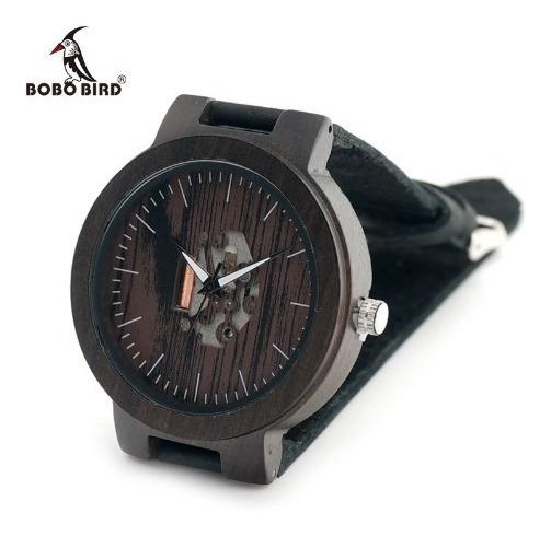 Relógio Importado Bobo Bird® De Madeira Com Estojo - Oferta
