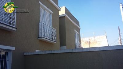 Ótimos Sobrados Novos Na Eng. Caetano Alvares- Casa Verde - 813