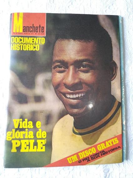 Revista Manchete Esportiva Vida E Glória De Pelé