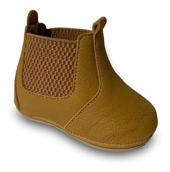 Botinha De Bebê Country C/sola Casual Sapato Kids Infantil