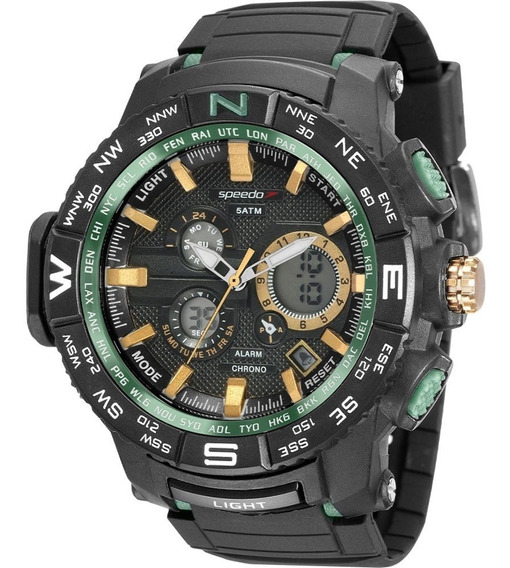 Relógio Speedo Masculino 81118g0evnp5