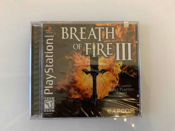 Breath Of Fire Iii Ps Playstation Psx Novo Lacrado Sony
