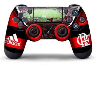 Skin Controle Ps4 Flamengo 2 Unidades Adesivo Com Verniz