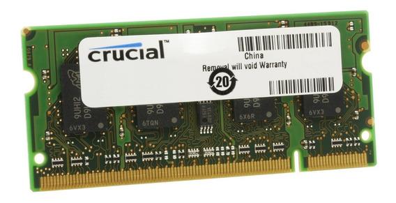 4gb Ddr2 667 / 800 Mhz Sodimm Para Notebook Nueva Sellada