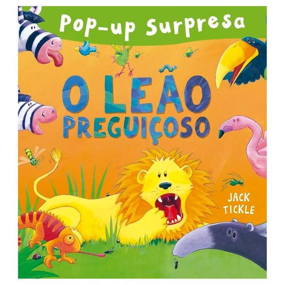 Livro Pop-up Surpresa O Leão Preguiçoso - Ciranda Cultural