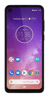 Celular Motorola One Vision 128gb 4g Ds Azul