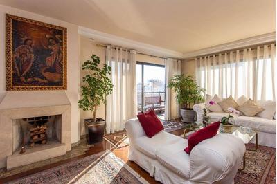Apartamento Com 4 Dormitórios À Venda, 235 M² Por R$ 2.290.000 - Moema - São Paulo/sp - Ap3615