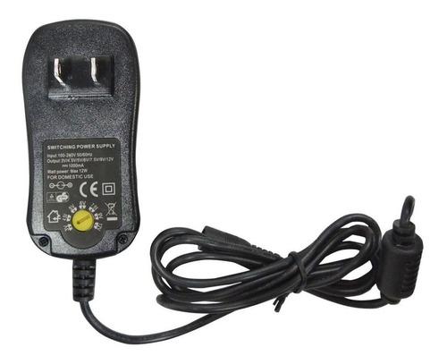 Adaptador De Voltaje De 12w 6 Puntas Incluidas 3v