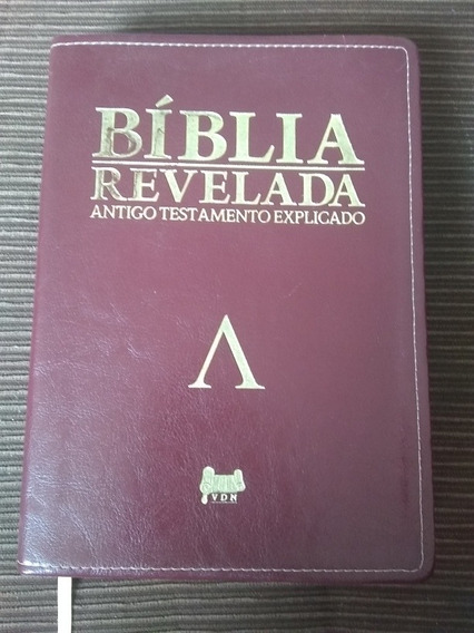 Bíblia Revelada Antigo Testamento Explicado   Aldery Nelson