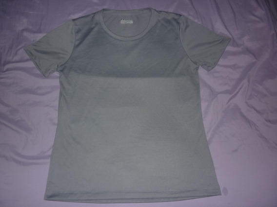 E Remera Dama Under Armour Gris Semi-fitted Talle L Art 3014