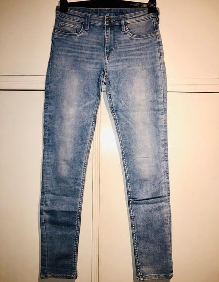 Padrisimos Skinny Jeans Marca Americana Encore Talla 7 Mercadolibre Com Ar