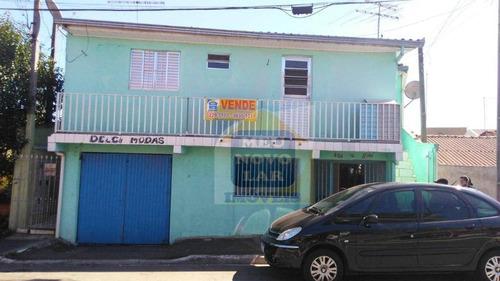 Sobrado Com 4 Dormitórios À Venda, 330 M² Por R$ 350.000,00 - Cidade Industrial - Curitiba/pr - So0296