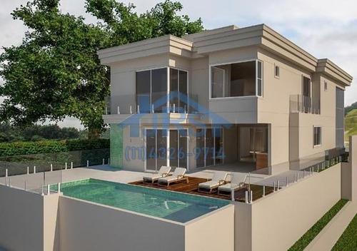 Sobrado Com 4 Dormitórios À Venda, 450 M² Por R$ 4.900.000 - Alphaville - Santana De Parnaíba/sp - So2062