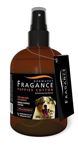 Imagen 1 de 1 de Dermapet Fragance Puppis Cotton, Perfume Pa Perros Cachorros