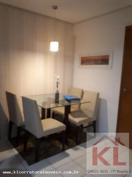 Apartamento Para Venda Em Natal, Pitimbu, 2 Dormitórios, 1 Suíte, 2 Banheiros, 1 Vaga - Ka 0611