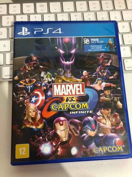 Marvel Vs Capcom Infinite (mídia Física) - Ps4