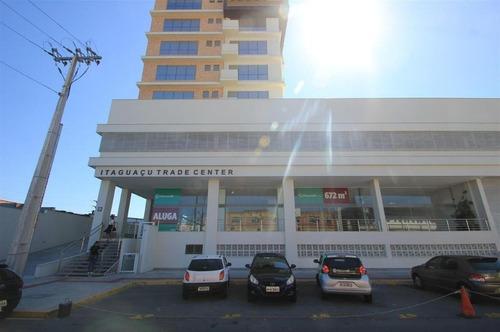 Imagem 1 de 8 de Sala Comercial Em Barreiros - Sa0547