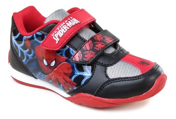Zapatillas Marvel Baby Spiderman Niños Abrojo Hombre Araña