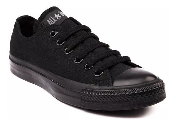 Zapatillas Converse Cta Monochrome - Negro