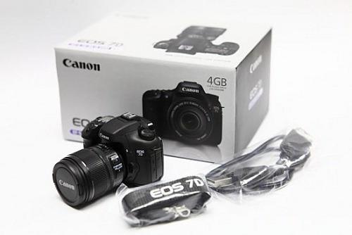 Réplica Em Miniatura E Pendrive De 4gb Canon Eos 7d