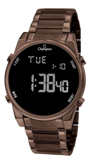 Relógio Champion Feminino Ch40071r Digital, Marrom