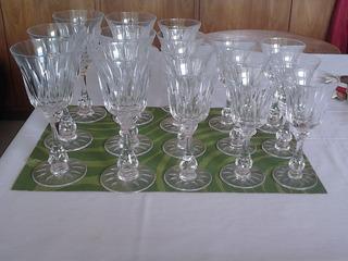 Juego De Copas Sevres De Cristal Para Vinos.