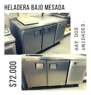 Heladeras Bajo Mesada - Gastronomia
