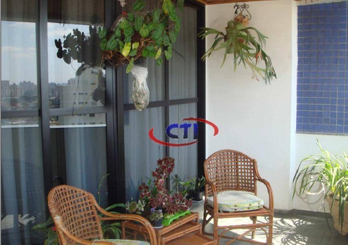 Imagem 1 de 17 de Excelente Apartamento  3 Suítes À Venda, Centro, São Bernardo Do Campo. - Ap0536
