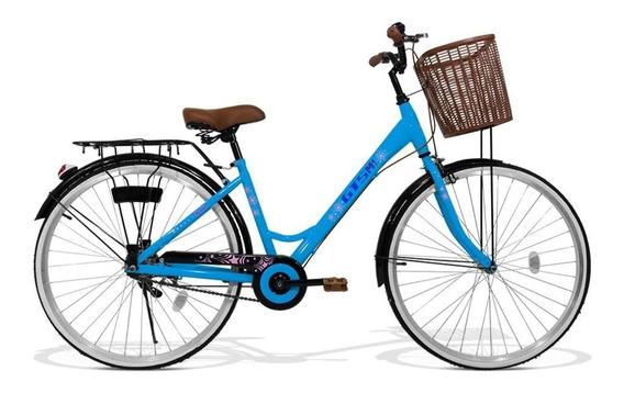 Bicicleta Feminina Gts Aro 26 Cestinha | Retrô Low Beach Cl