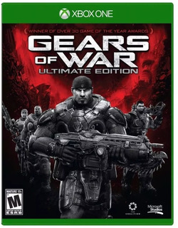 Gears Of War Ultimate Edition Nuevo Fisico Sellado Xbox One