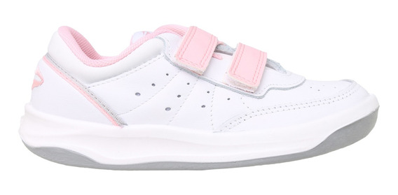 Zapatillas Topper C Tennis X Forcer Kids Abrojo Niña Bl/rv
