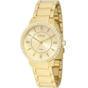 Relógio Condor Feminino Copc21ae/4x Dourado - Promo C/ Nfe