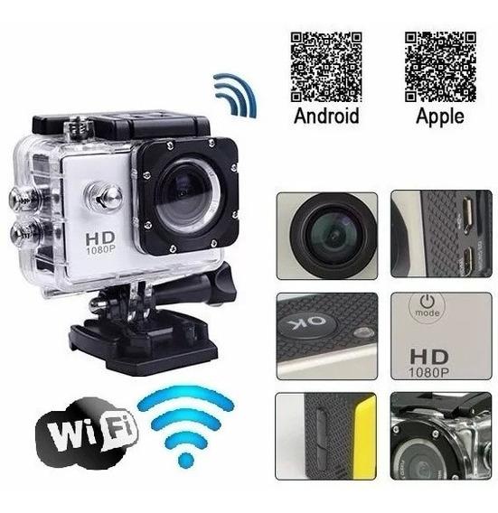 Camera 1080p Action Go Cam Pro Sport Com Wifi Prova D
