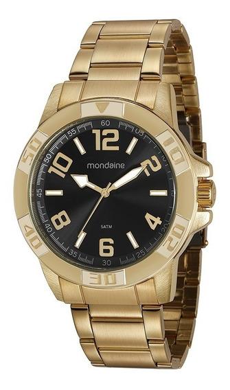 Relógio Mondaine Masculino Dourado 99369gpmvde3