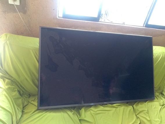 Tv LG 4k Modelo 49uj6525 Display Quebrado, Retirada De Peças